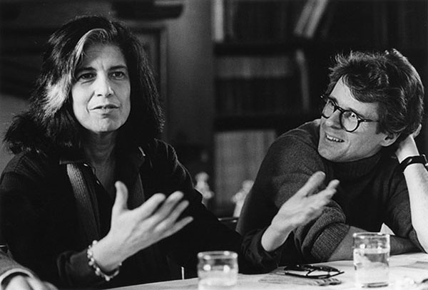 Susan Sontag and Thomas Mallon